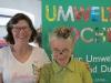 Organisatorin Ingrid Benedikt und Moderatorin Elke Riedmann als Frau Heimpl für Dienstag und Mittwoch (Andere)