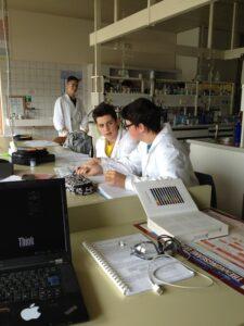 HTLDornbirn, 1aCI, Nitratwertmessung von Gemüse, Vorbereitung im Labor