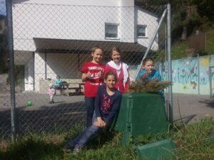 VS Ebnit Komposthaufen